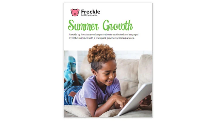Freckle Summer Growth Toolkit