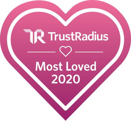 2020 TrustRadius Most Loved Award 2020