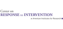 Center on Response to Intervention