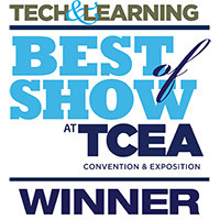 Tech and Learning TCEA 2019 Best of Show Winner