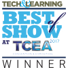 Tech and Learning TCEA 2017 BEst of Show Winner