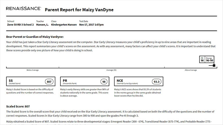 Parent Report