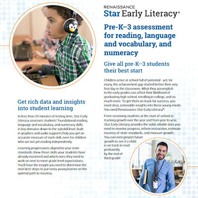 Download Star Early Literacy flyer