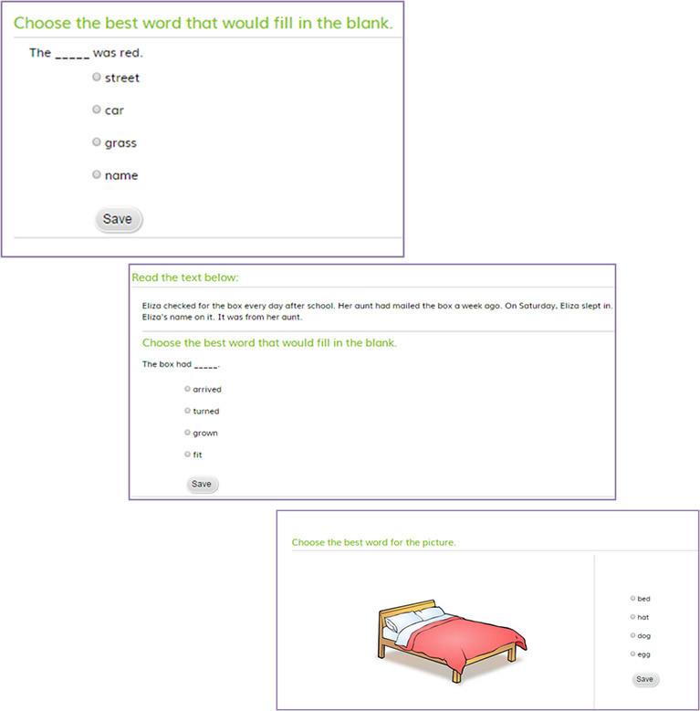 Quiz samples