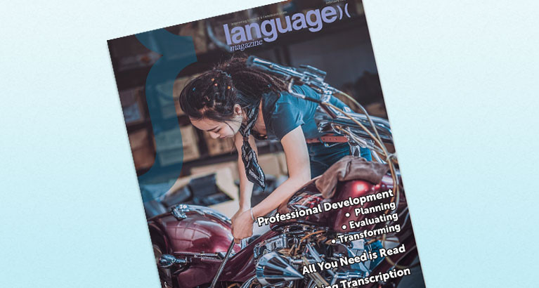 Language Magazine story