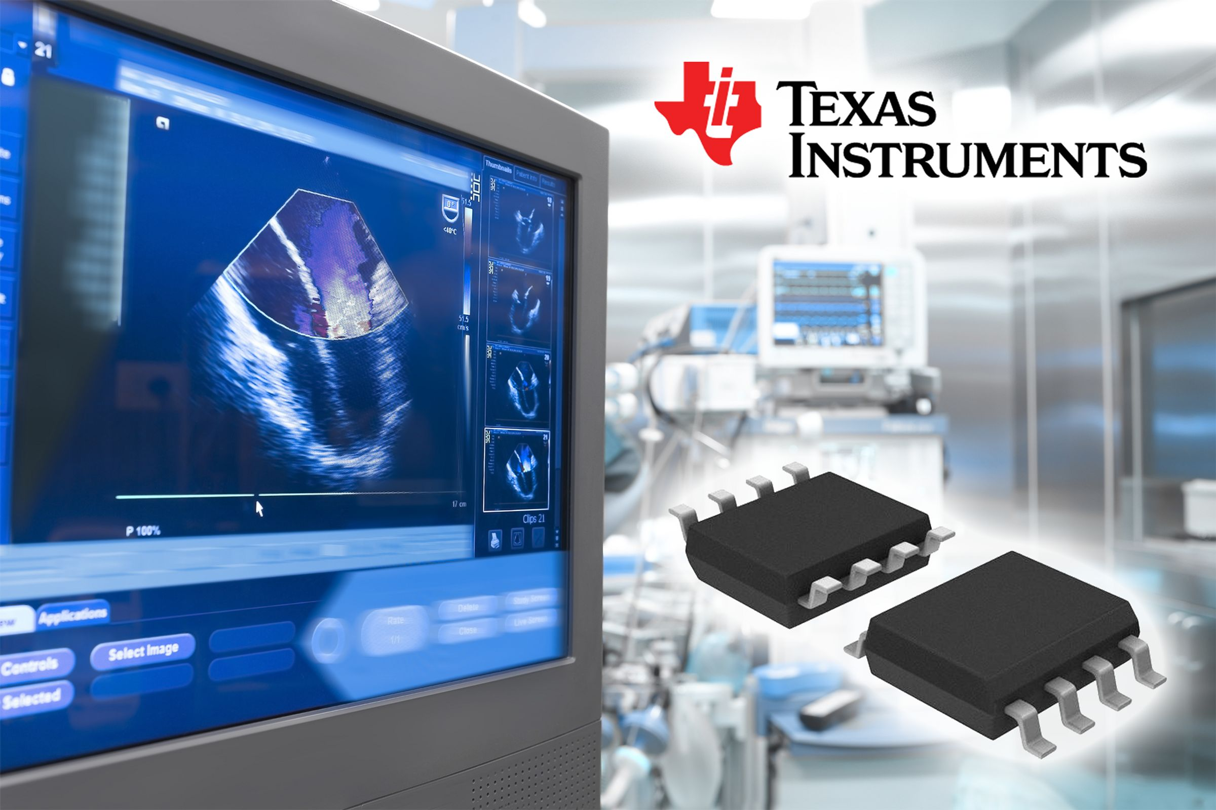 Texas Instruments Operational Amplifiers In Stock and Available for Immediate Shipment