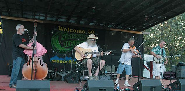 Moonshiners Reunion and Mountain Music Festival