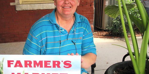 Organizer of the Columbia's Vista Marketplace, Liz McCullar
