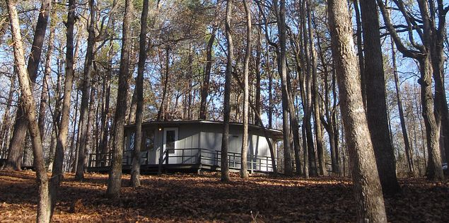 Barnwell State Park cabin