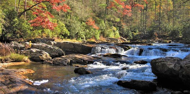 chattooga trail waterfalls