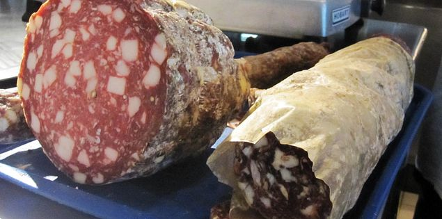 Charcuterie done by Craig Deihl at Cypress in Charleston
