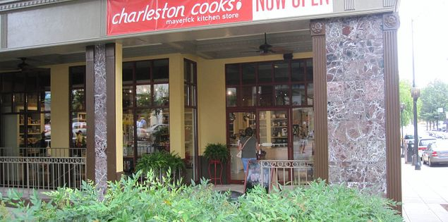 Charleston Cooks! in Greenville, South Carolina at 200 N. Main St.