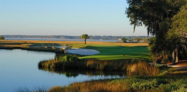 Harbour Town Golf Links' par-3 17th hole at Sea Pines