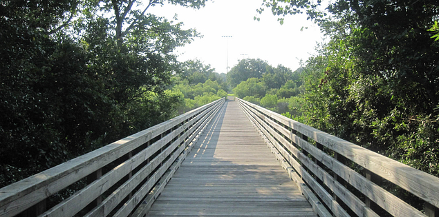 Boardwalk at South Carolina's Mitchelville Beach Park