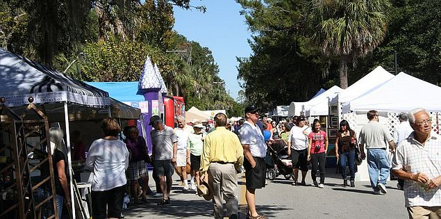 Historic Bluffton Arts & Seafood Festival