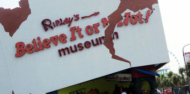 Ripley's Believe it or Not! Museum in Myrtle Beach, South Carolina
