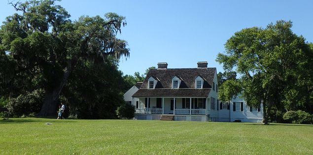 Pinckney plantation house