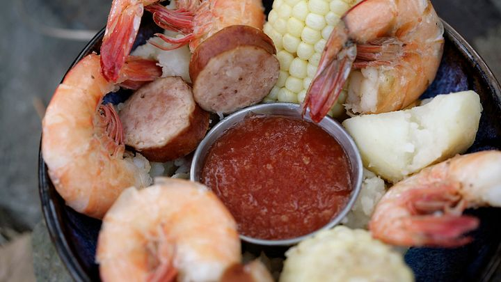 Frogmore Stew in Beaufort