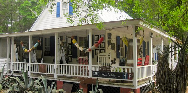 Iron Fish Gallery on Daufuskie Island