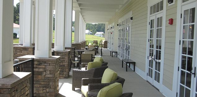 Veranda at South Carolina's Cobblestone Park