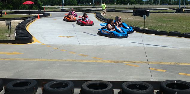 Take the kids to the Grand Prix in Myrtle Beach, South Carolina!