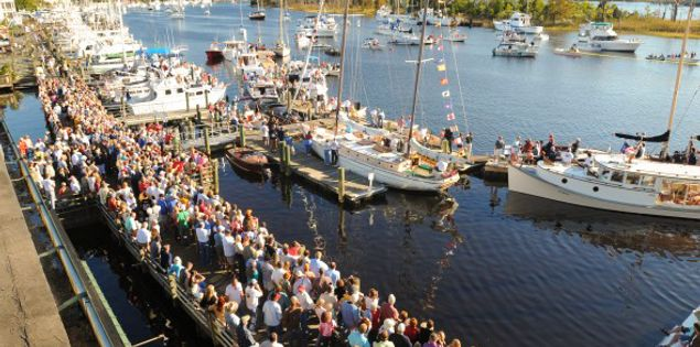 wooden boat show georgetown