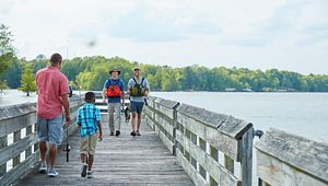 A Weekend on the Water at Santee State Park