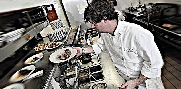 South Carolina's Chef Tommy Crayton of Victor's​ Bistro in Flore​nce