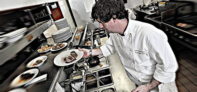 South Carolina's Chef Tommy Crayton of Victor's Bistro in Florence