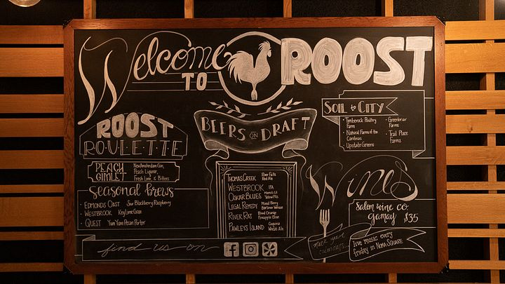 roost restaurant in greenville