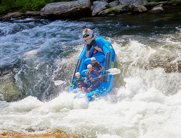 Outdoor Adventure - Whitewater Rafting