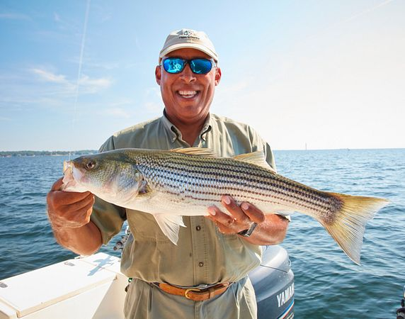 Follow an South Carolina Guide with Striper Mike