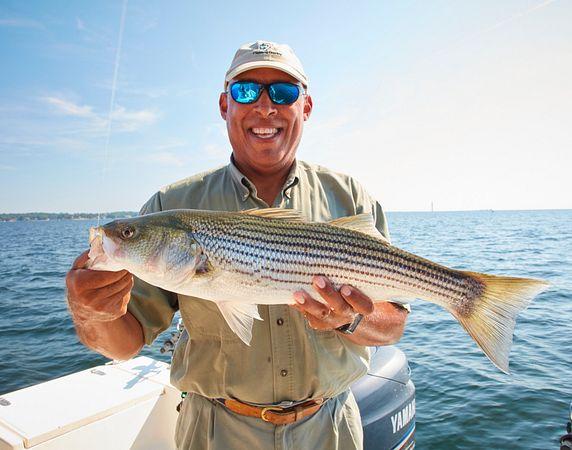 Follow an South Carolina Guide with Striper Mike