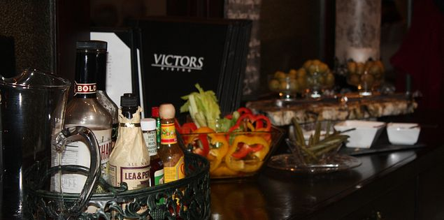 Victor's Bistro Bloody Mary bar