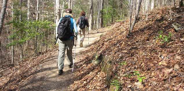 Trails at Oconee State Park in Upstate South Carolina