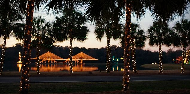 James Island Festival of Lights in Lowcountry South Carolina