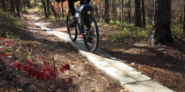 Forks Area Trail System around Clarks Hill, South Carolina