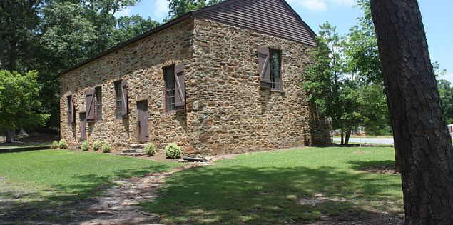 Old Stone Church home to Hopewell Presbyterian congregation in Clemson