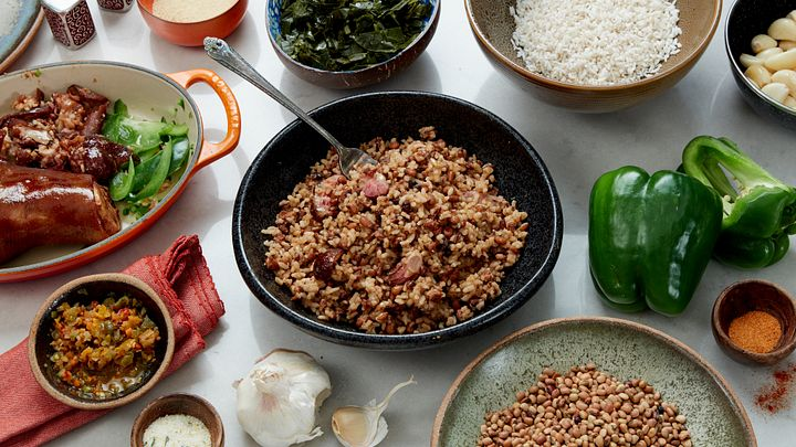 Hoppin' John–a classic dish from the Lowcountry of South Carolina.