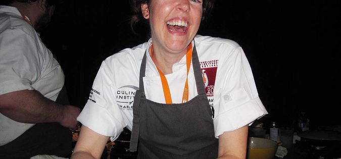 Chef Jill Mathias of Carolina's in Charleston, South Carolina