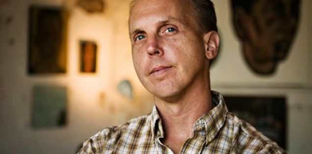 South Carolina artist Kent Ambler makes woodcuts in Greenville