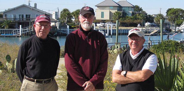 The guys' golf getaway gang.