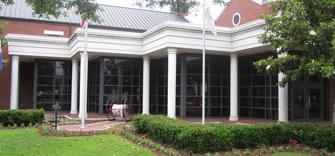 The Columbia Fire Deparment Museum in South Carolina