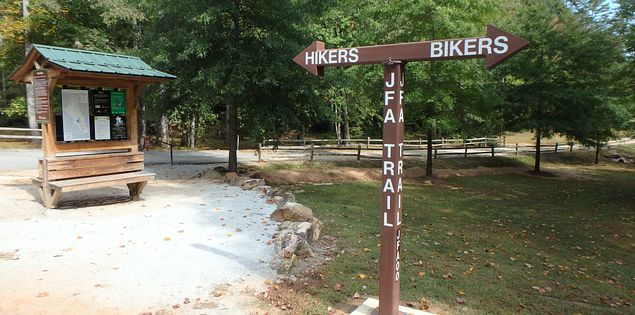 Pleasant Ridge Park bike trail