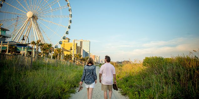 Myrtle Beach Board Walk