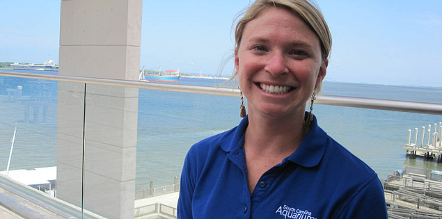 Shelley Dearhart of the Sustainable Seafood Initiative