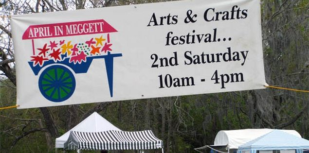 April in Meggett Arts and Crafts Festival