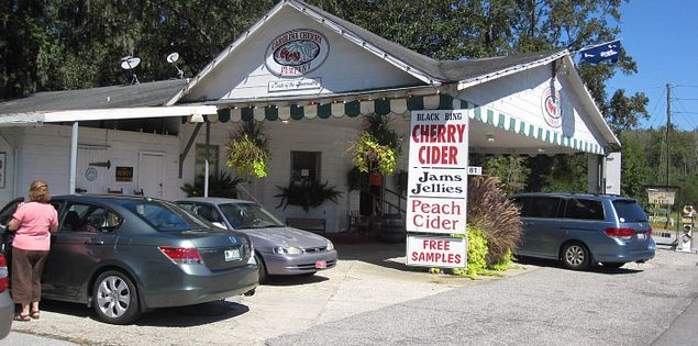 Carolina Cider Company is on U.S. 17 between Beaufort and Charleston