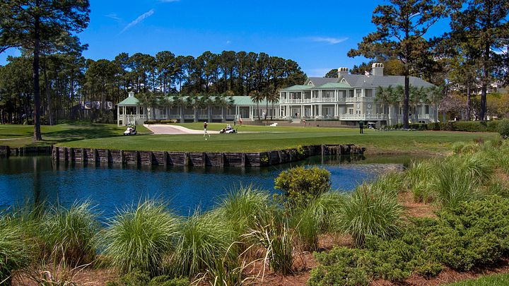 The Harbour Town Clubhouse.