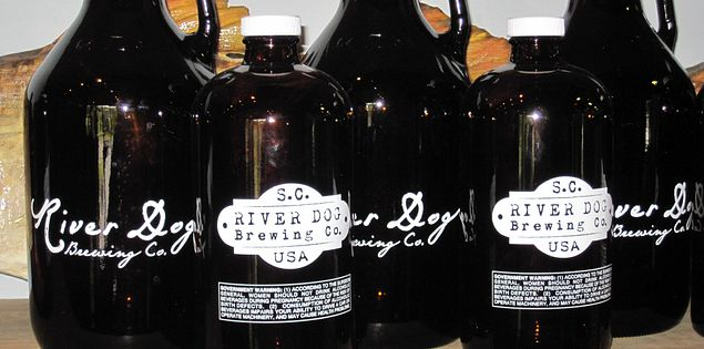 River Dog Brewing Co. in Ridgeland, SC, is a great spot to enjoy crafted beer in South Carolina.